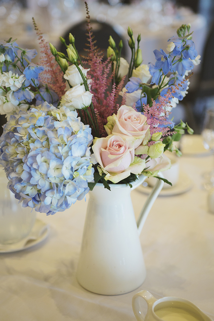 Real Wedding at The Waterside Hotel Ayrshire. Laura A Tiliman Photography. flowers