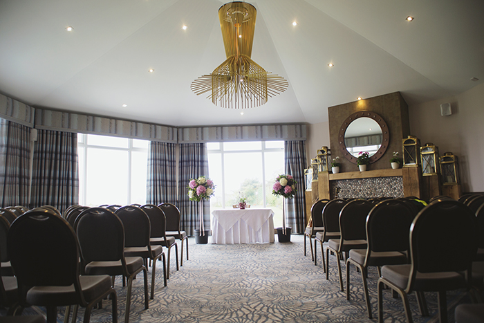 Real Wedding at The Waterside Hotel Ayrshire. Laura A Tiliman Photography. The Waterside Hotel function room