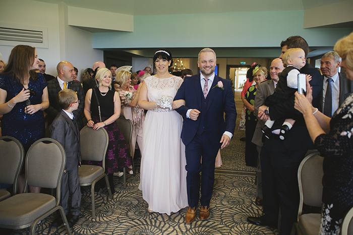 Real Wedding at The Waterside Hotel Ayrshire. Laura A Tiliman Photography. Bridespeople