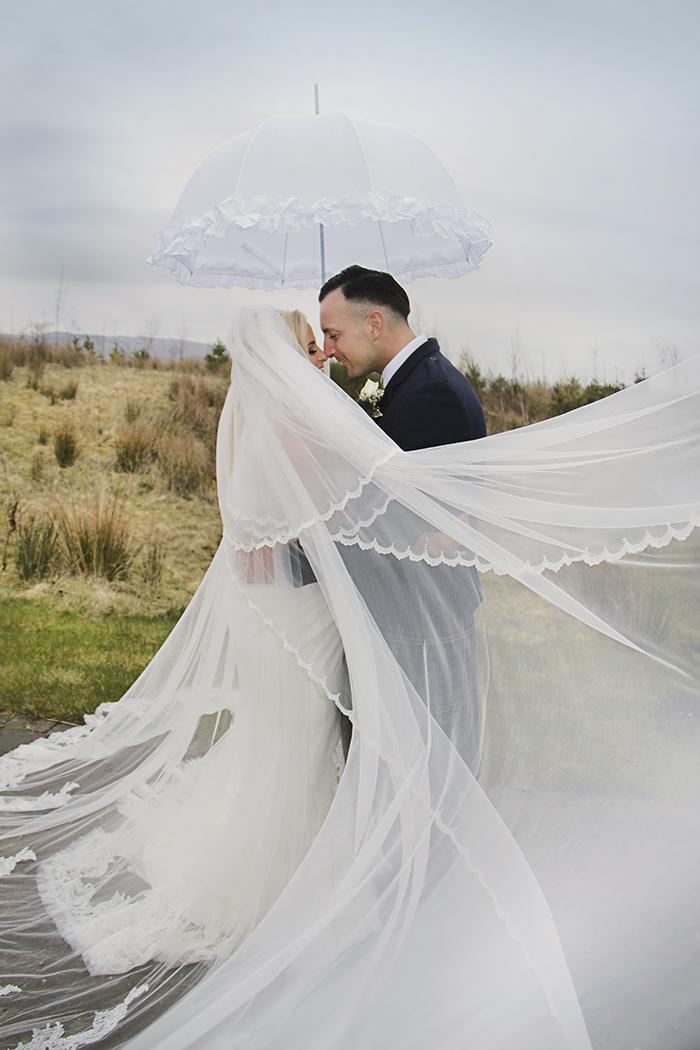 Glamorous Ivory Champagne Wedding At Ingliston Country Club