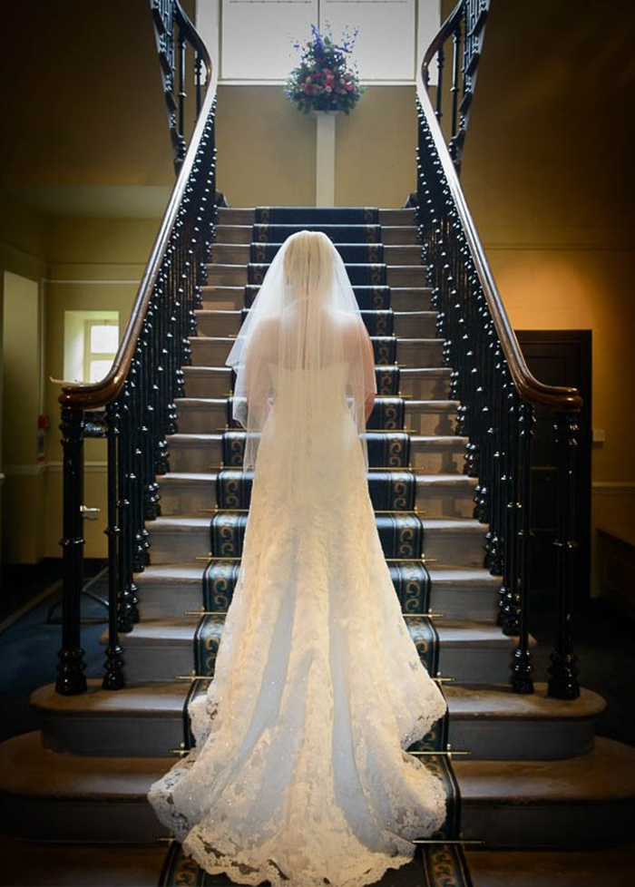 Lower and Upper College Hall wedding