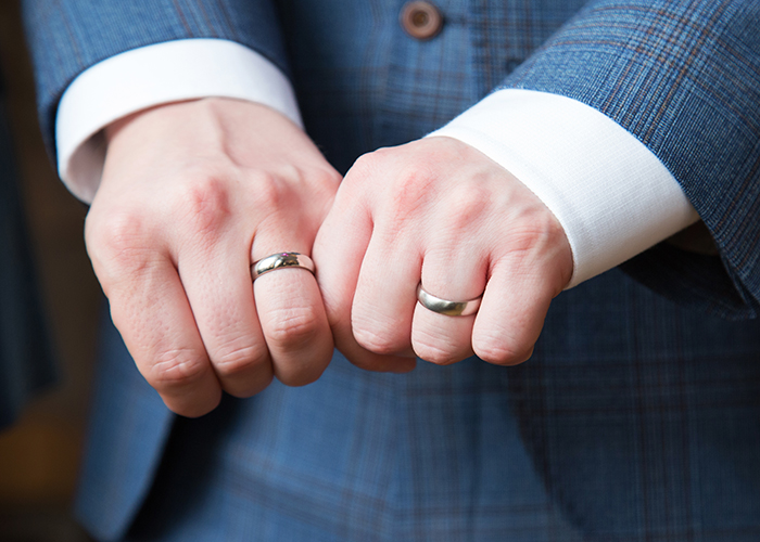 Same-sex wedding 29 Glasgow