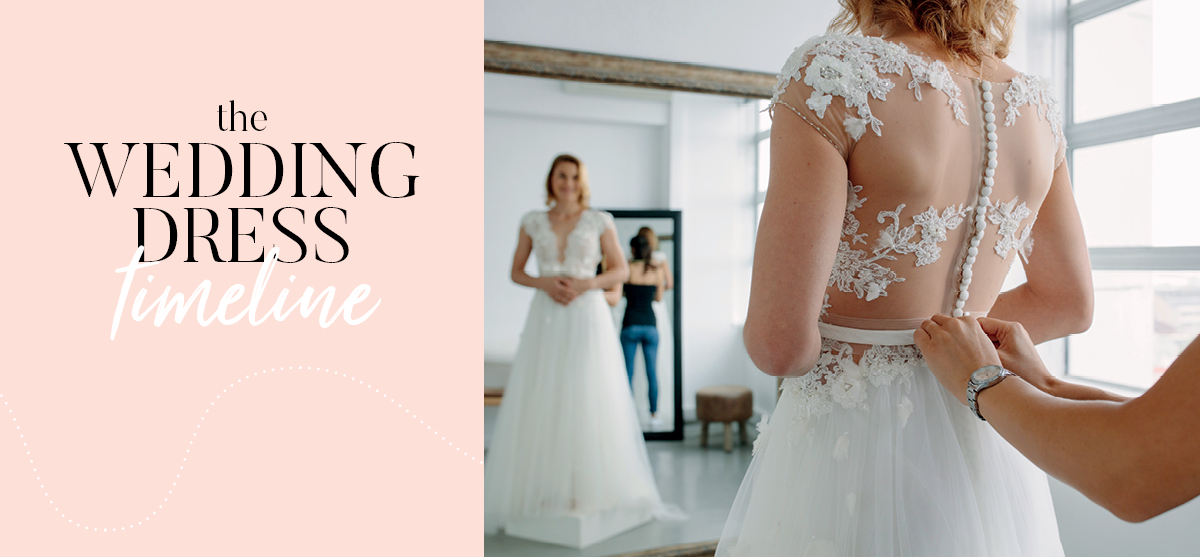 Your wedding dress journey, from start to finish