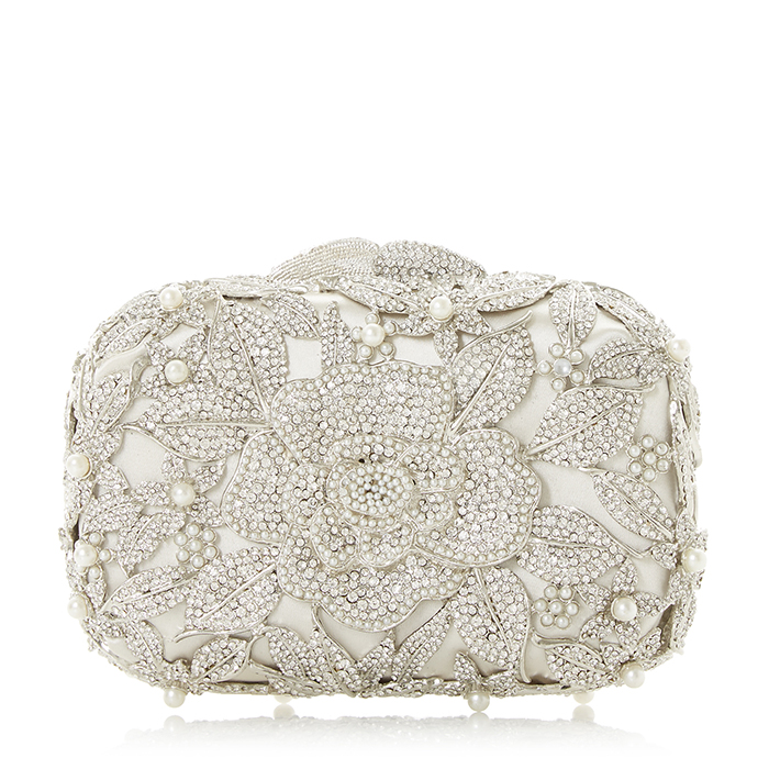 Dune London Celebration clutch bag