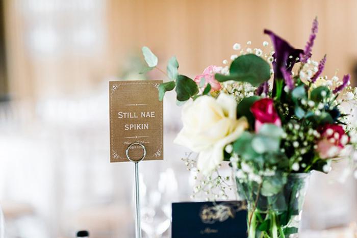 coorie wedding