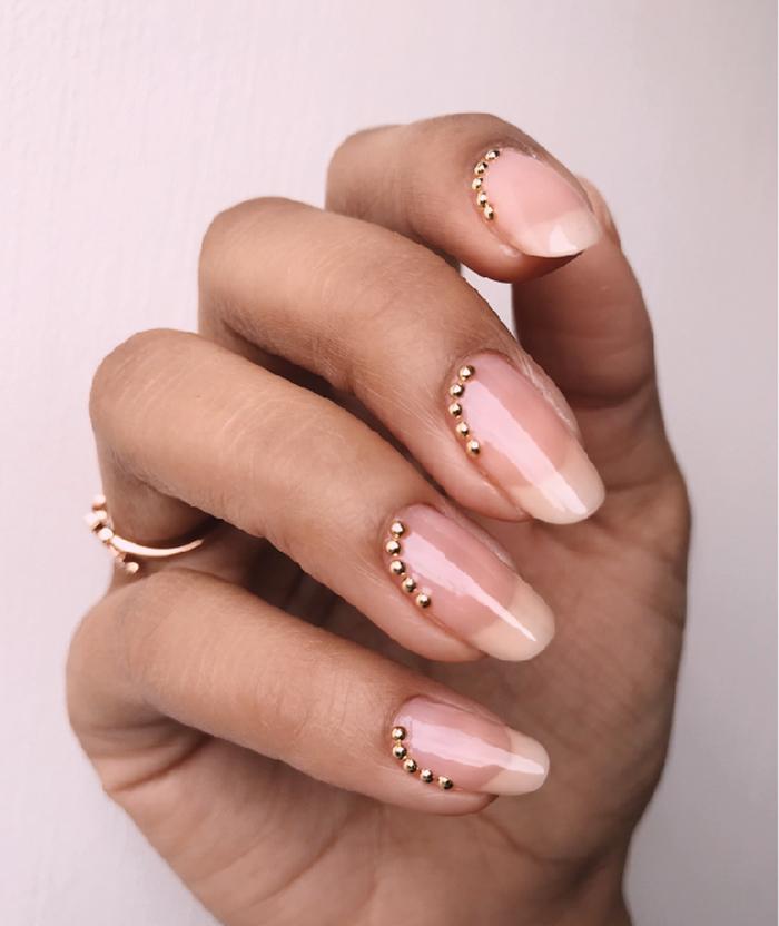 Looking for wedding nail ideas? Harvey Nichols Champagne Nail Bar ...