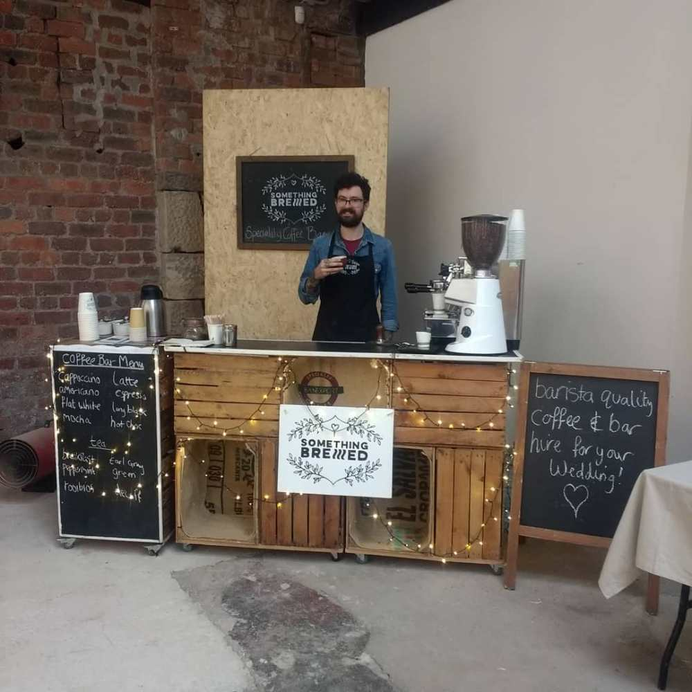 coffee bar for hire wedding scotland
