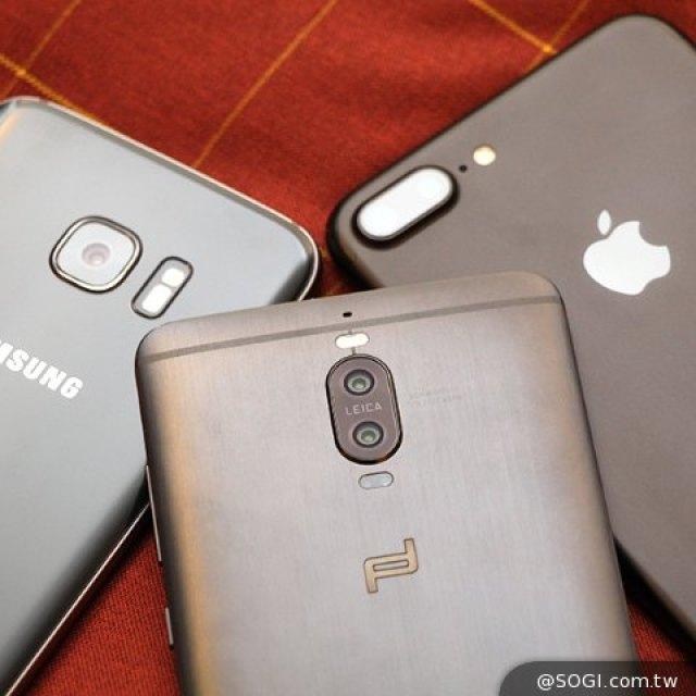 旗艦手機上海夜拍PK!華為Mate 9、iPhone 7 Plus、三星S7 edge
