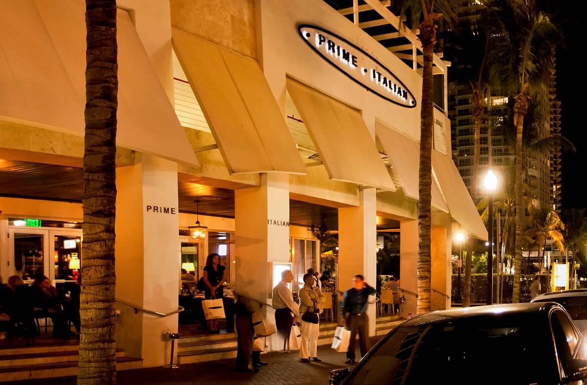Prime Italian Miami Beach Restaurant On Best Steakhouse