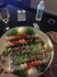 Sushi from Asahi Sushi Morristown