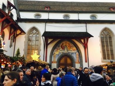 The Franciscan Church, Christmas market