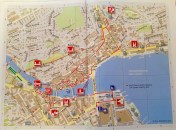 Lucerne, city map