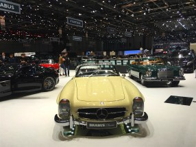86th Geneva International Motor Show, Brabus, Mercedes