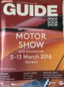 86th Geneva International Motor Show, a guide magazine