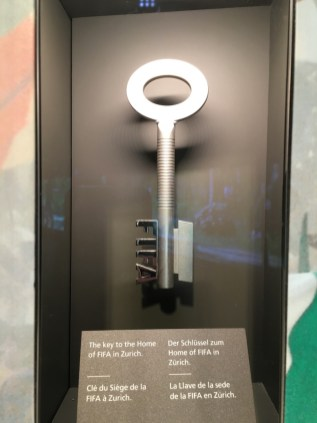 FIFA World Football Museum, the key to the Home of FIFA in Zurich