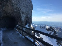 Caves in the mountain