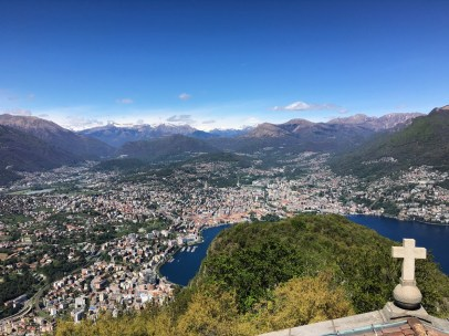View from Monte San Salvatore