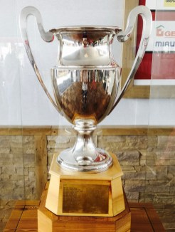 Crans-Montana, trophy of Omega Europeans Masters