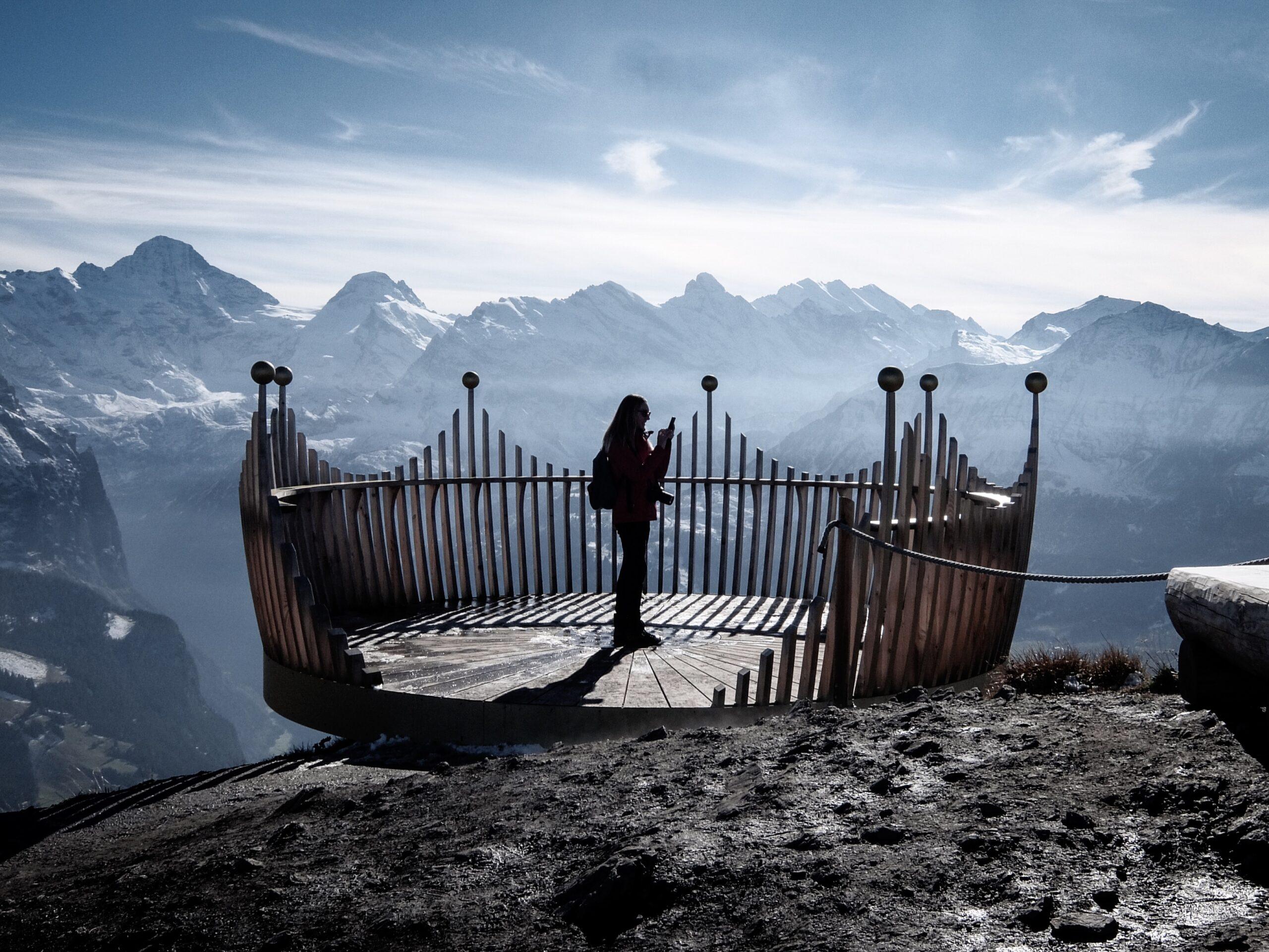 The Royal View Crown - the panoramic platform