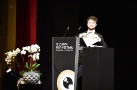ZFF, Award Ceremony, the AUDIENCE AWARD was presented by Daniel Radcliffe