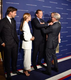 ZFF, Tommy Hilfiger himself at the party with his name