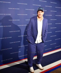 ZFF, Woody Harrelson is at the Tommy Hilfiger party