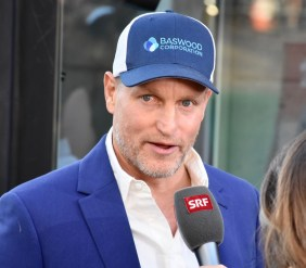 ZFF, Woody Harrelson is on the Green Carpet before the Gala premiere of LBJ
