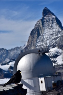 The observatory and Matternhorn
