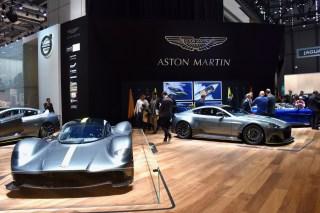 87th Geneva International Motor Show, Aston Martin