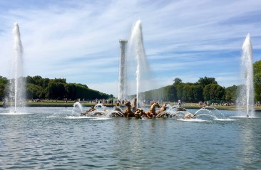 Paris, Palace of Versailles, the Gardens & Fountains