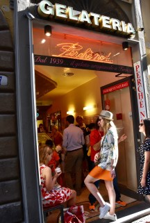Florence is also famous with its fabulous Gelato (ice-cream)