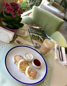 Coffee break at Chekhov restaurant