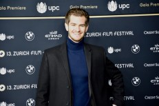Andrew Garfield on the Green Carpet before the Gala Premiere of BREATHE