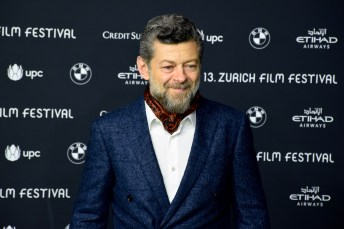 Andy Serkis on the Green Carpet before the Gala Premiere of BREATHE