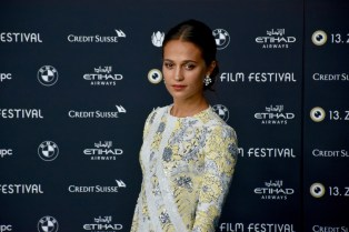 ZFF, Alicia Vikander on the Green Carpet