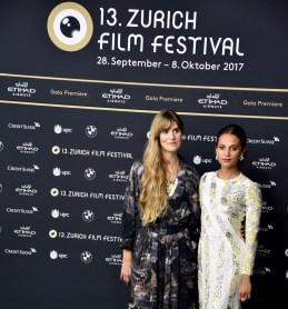 ZFF, Alicia Vikander and Lisa Langseth on the Green Carpet