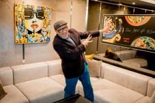 Marc Ferrero & Hublot Art Presentation in the Hublot Suite at the Hotel Atlantis by Giardino