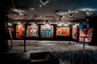 Marc Ferrero & Hublot Art Presentation at the Hotel Atlantis by Giardino
