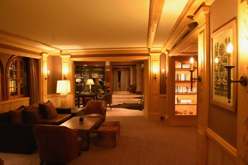 Park Gstaad, Library