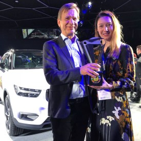On the photo with Håkan Samuelsson - President & CEO of Volvo Cars