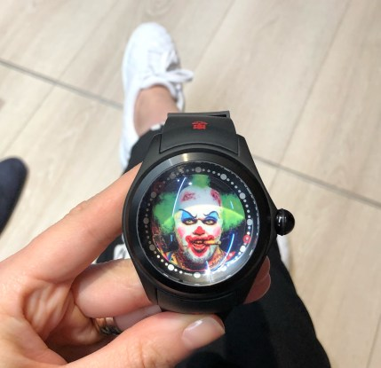 Baselworld 2018, CORUM BUBBLE BIG MAGICAL CLOWN
