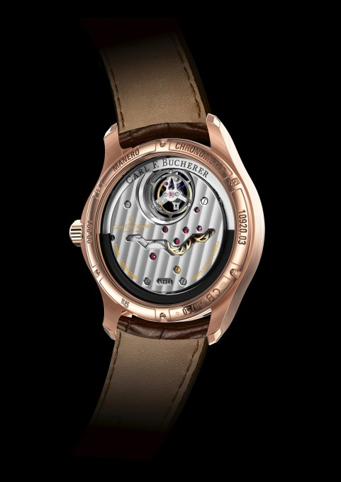 Baselworld 2018, CARL F. BUCHERER MANERO TOURBILLON DOUBLEPERIPHERAL