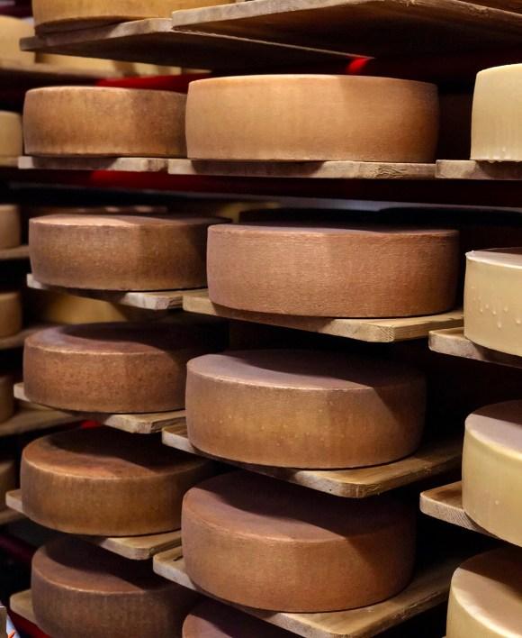 Rüegsegg cheese dairy in Röthenbach