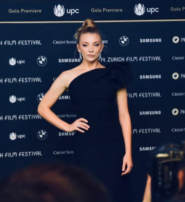 Natalie Dormer on the Green Carpet of 14th ZFF before presenting her most recent series PICNIC AT HANGING ROCK