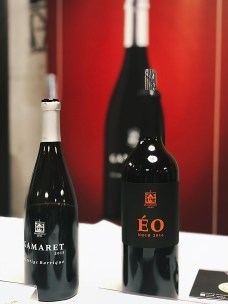 two bottles of red wine from Staatskellerei Zurich