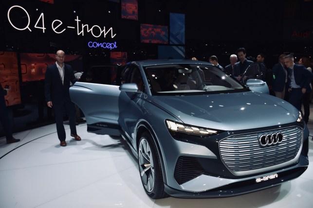 AUDI - Q4 e-tron Concept