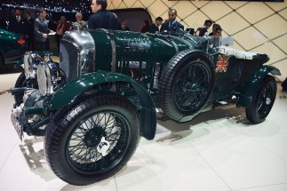 The original BENTLEY No. 9 Blower is one of the British most iconic racing cars