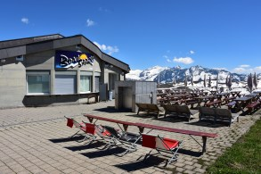 A restaurant at the Bonistock