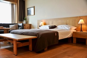 Double room lake view, Frutt Lodge and Spa