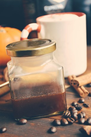 Fall spiced sirup for Fall Spice Coffee Latte